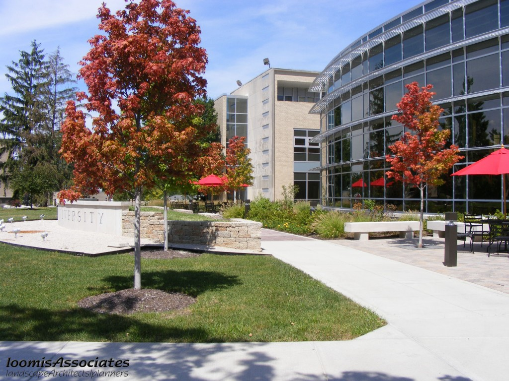 Maryville University Gander Hall Landscape