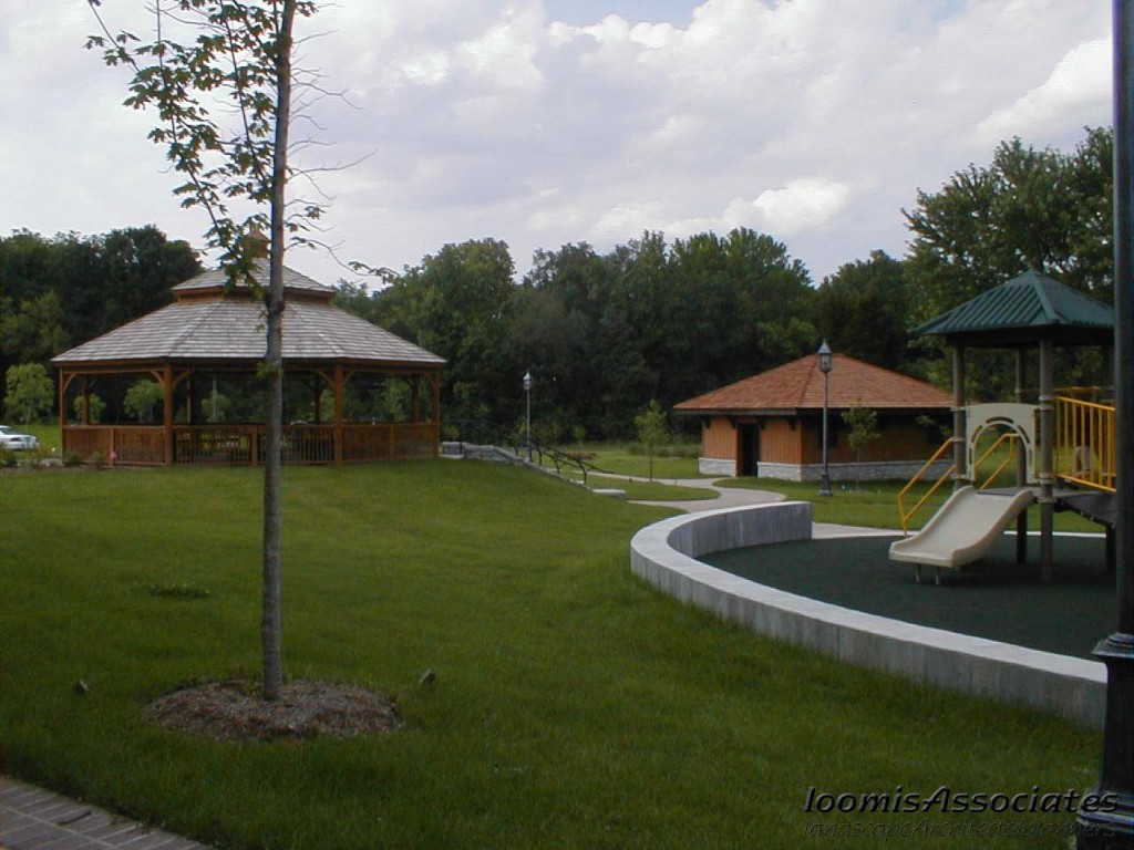 Gazebo and Playground Area
