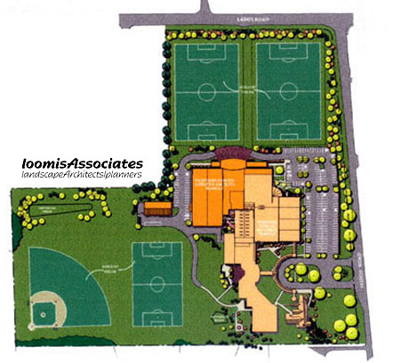 Whitfield School - Color Site Plan